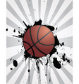 sporting background vector image vector image