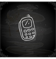 Hand Drawn Cellphone vector image