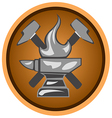 icon forge vector image