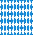 Oktoberfest background Bavarian flag pattern vector image