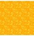 seamless patterns for a happy Halloween vector image