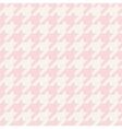 Tile houndstooth pattern or plaid background vector image