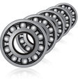 bearings vector image vector image