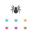 of animal symbol on spider vector image