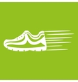 running shoes design vector image