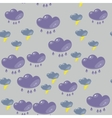 Cartoon flash clouds seamless pattern 633 vector image