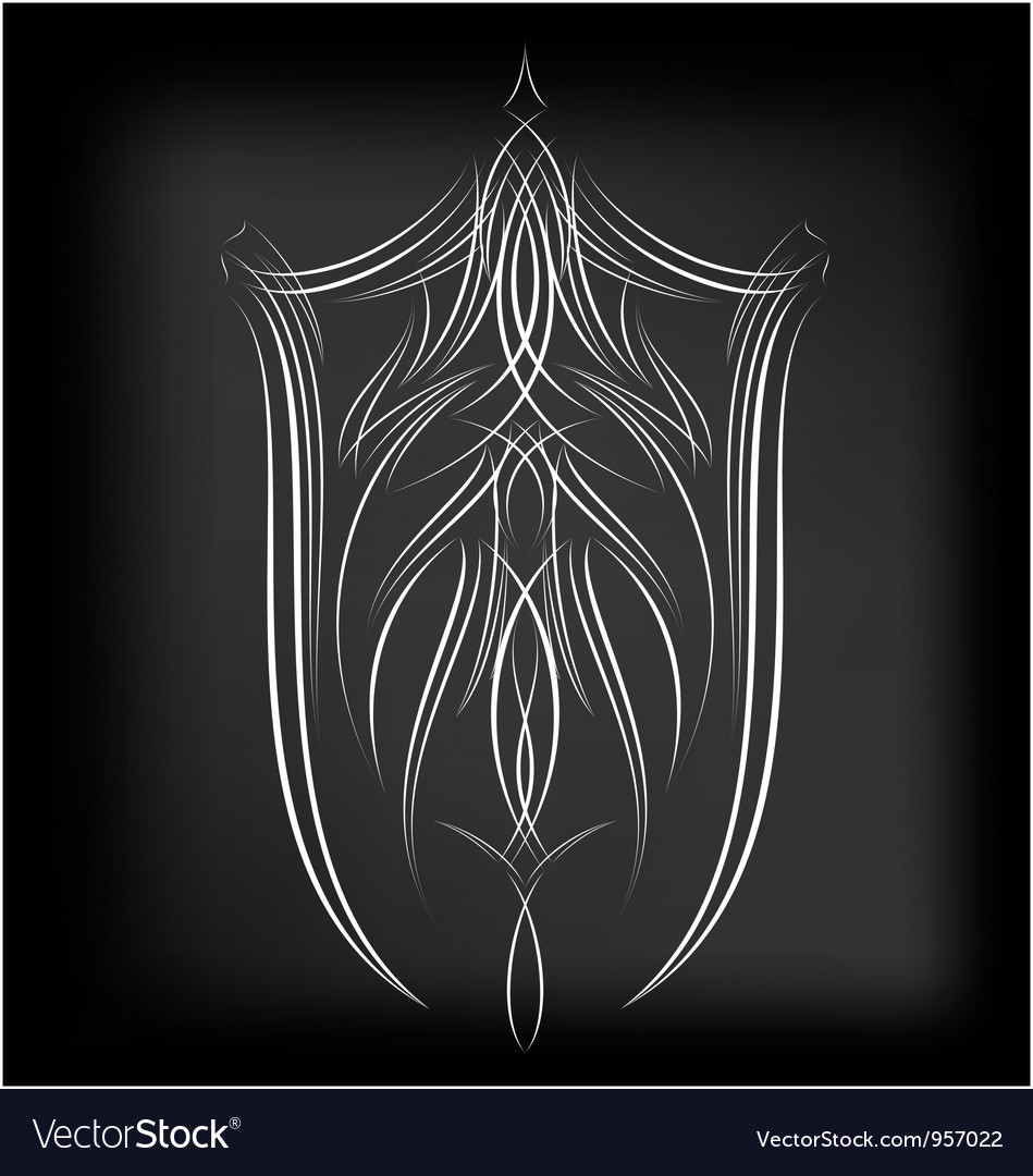 Pinstriping 4 vector