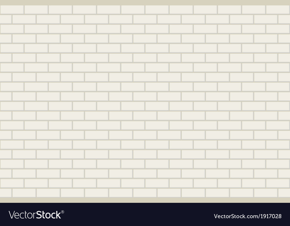 Seamless brick background vector
