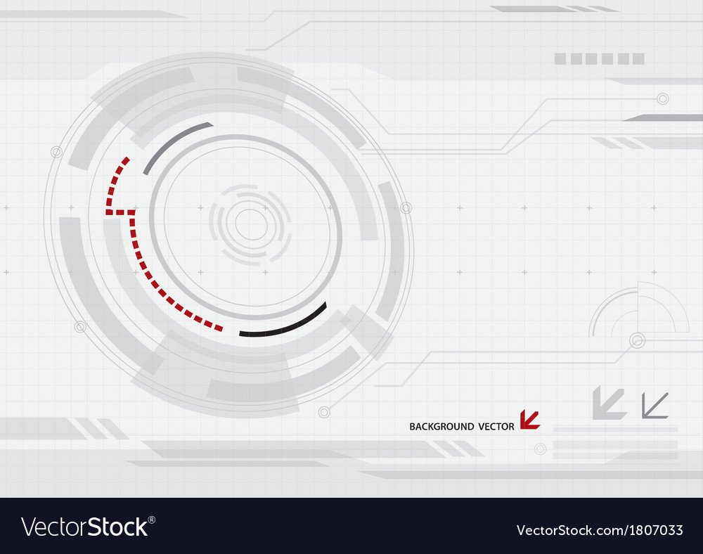 Abstract network technology background vector