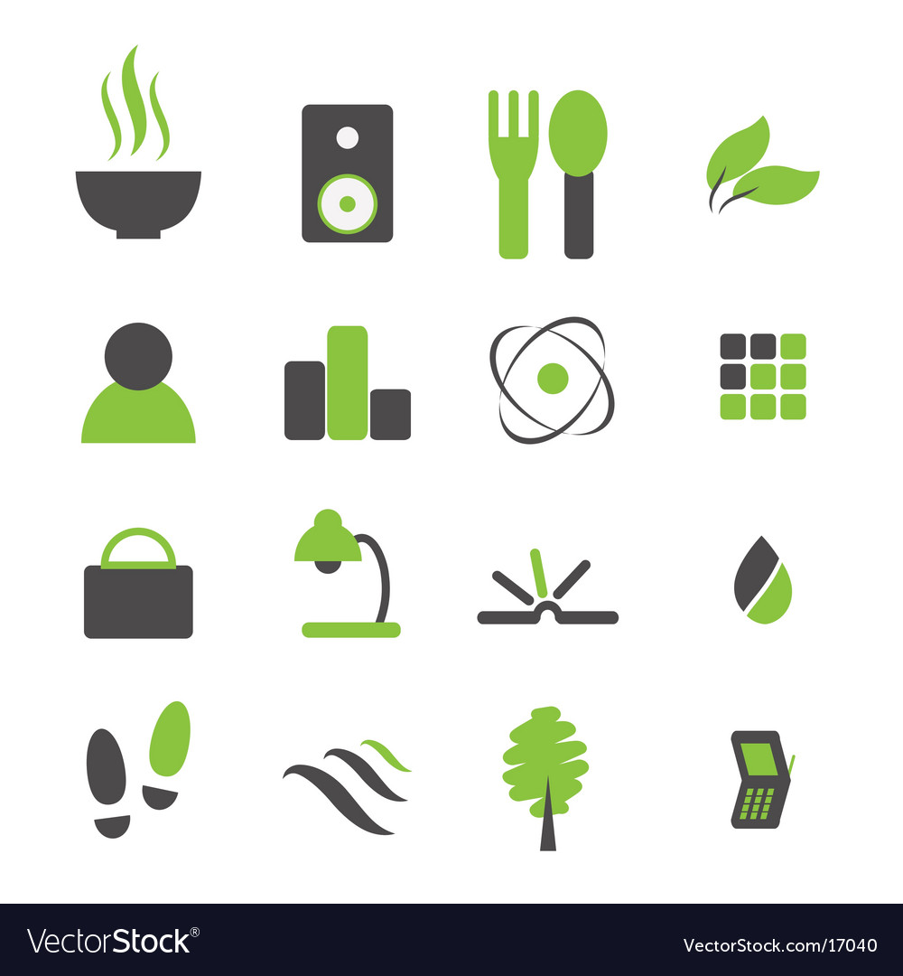 Every day icons vector