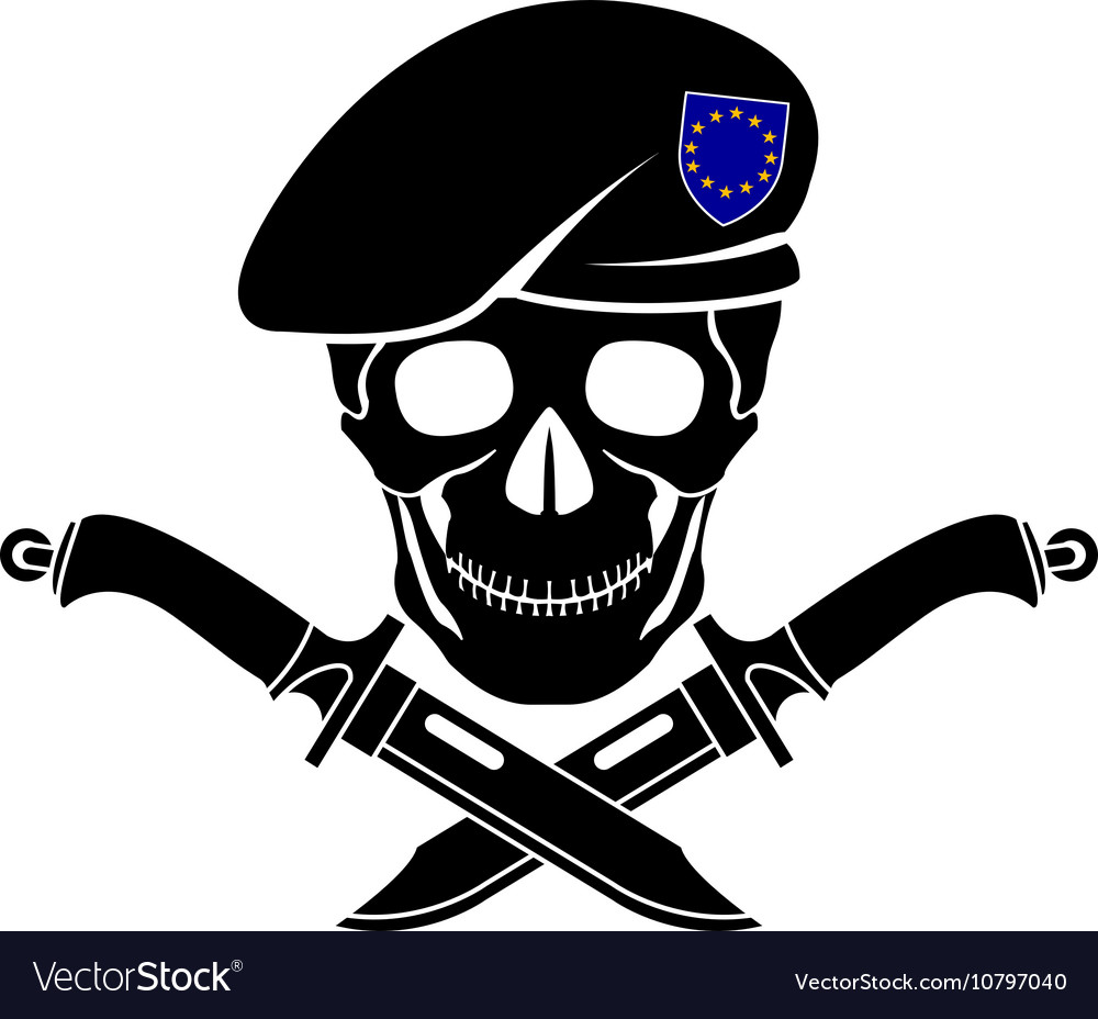 Sign of special forces of eu vector
