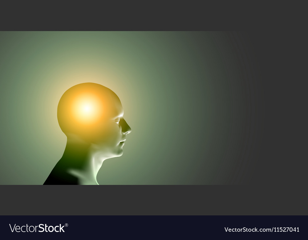 Healthcare and migraine concept  vector
