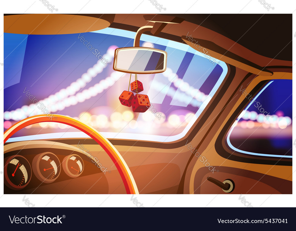 Vehicle interior vector
