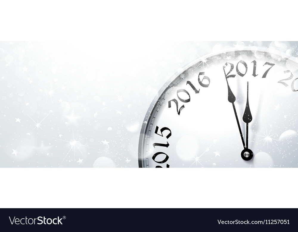 New year s eve 2017 vector