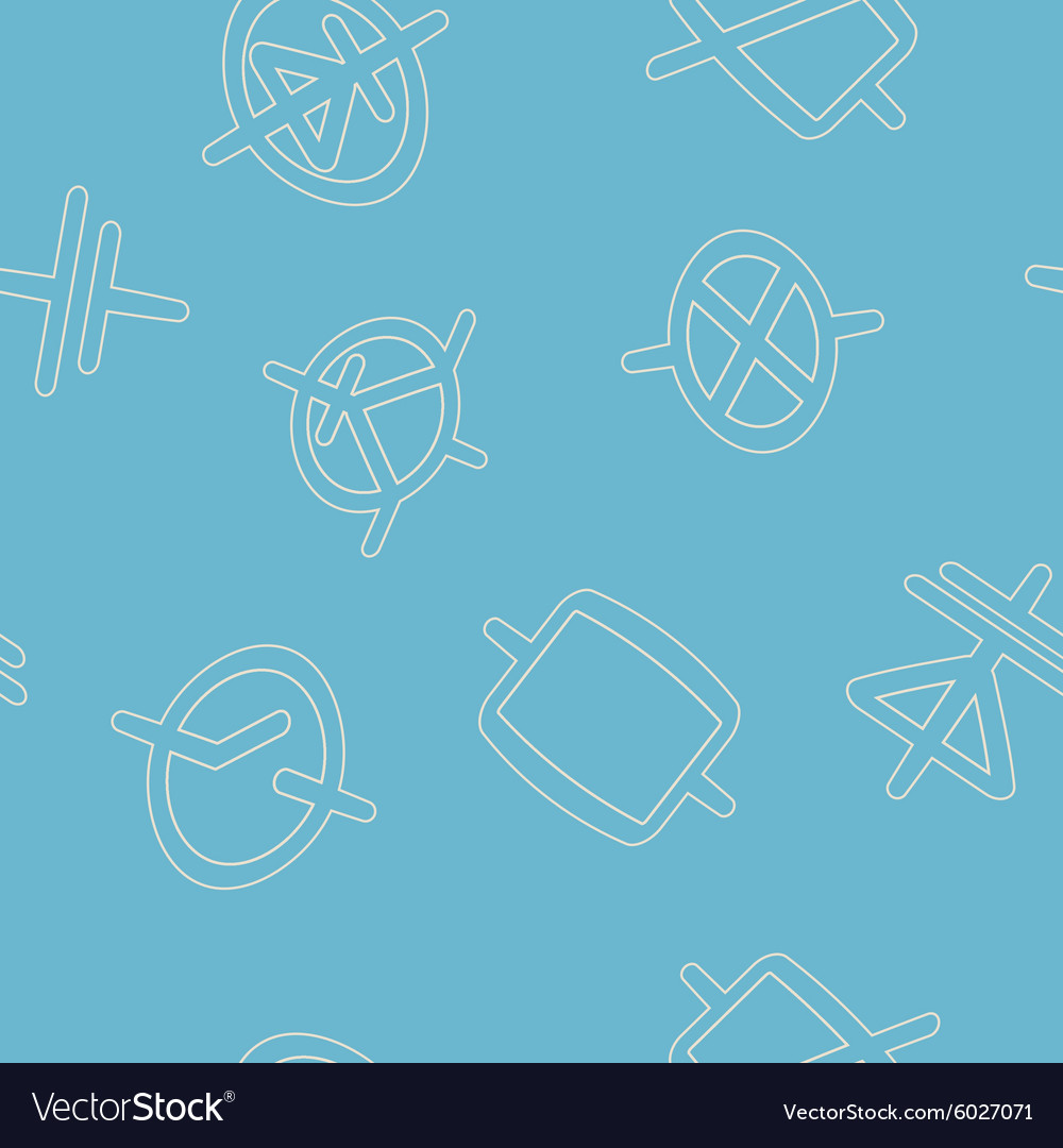 Seamless background with electronic board vector
