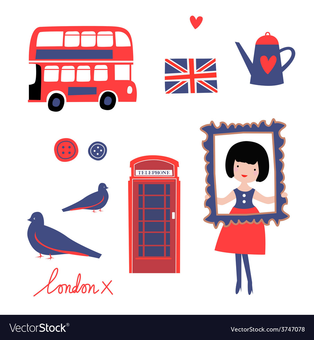 London style vector
