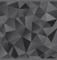 black shiny triangle background design vector image