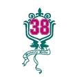 heraldry or badge vector image