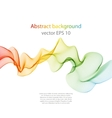 Wave abstract images color design vector image