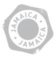 Jamaica stamp rubber grunge vector image