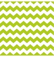 Zig zag chevron green and white tile pattern vector image vector image