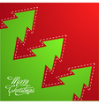 Creative Christmas Background vector image