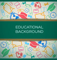 education learning design concept vector image