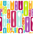 Cutlery silhouette icons pattern background vector image vector image