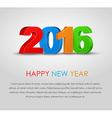 Poster Happy New Year 2016 vector image