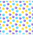 Seamless background with watercolor dots vector image
