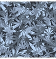 Seamless cannabis pattern vector image