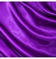 Smooth elegant lilac silk vector image