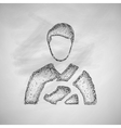 driver icon vector image