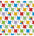 background pattern with pinwheel vector image