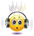 Rockin Emoji vector image