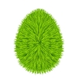 Grass egg symbol vector image vector image