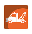 crane service isolated icon vector image