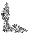 floral background Russian traditional ornament vector image