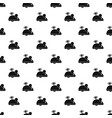 clockwork mouse pattern vector image