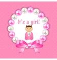 for Newborn Girl vector image