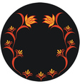 autumnal pattern vector image vector image