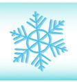grange snowflake vector image vector image