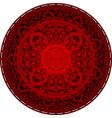 oriental rug vector image