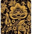 Hohloma floral pattern vector image vector image