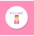 for Newborn Girl vector image
