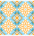 keltic pattern yellow vector image vector image