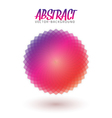 Abstract Spectrum Flower Colorful Spirograph vector image