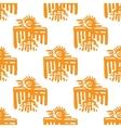 Maya art seamless pattern vector image