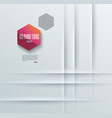 abstract background with white paper layers or vector image