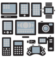 gadgets set vector image